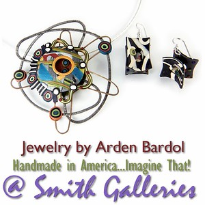 Jewelry by Arden Bardol at Smith Galleries