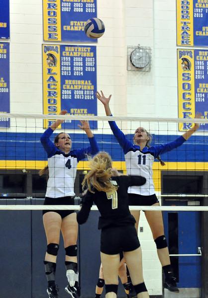 MHS at WAHS volleyball 2015