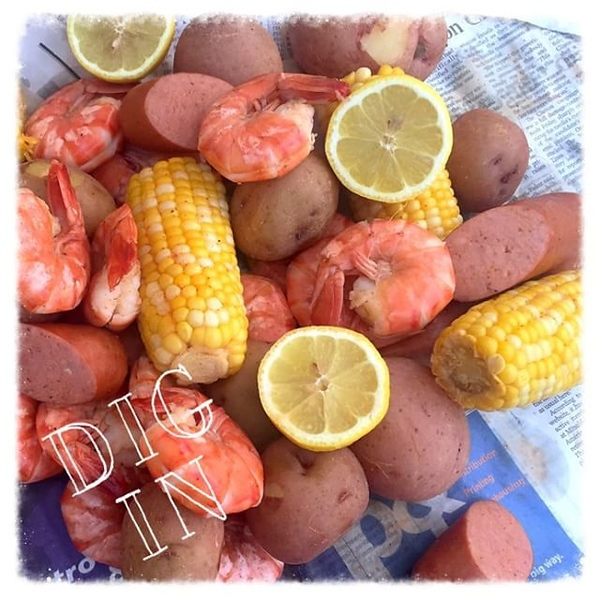 On the table tonite: @zatarains shrimp boil