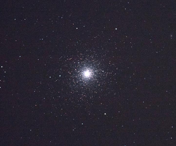 Caldwell 106 - NGC104 - 47 Tucanae Globular Cluster - 4/2/2011 (Processed single in-camera dark)