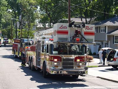 07-15-08 Dumont, NJ - Attic Fire