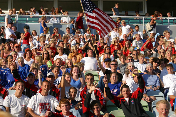 USA - United Soccer Academy - Ceremony - Goteborg, Sweden, July 15, 2002