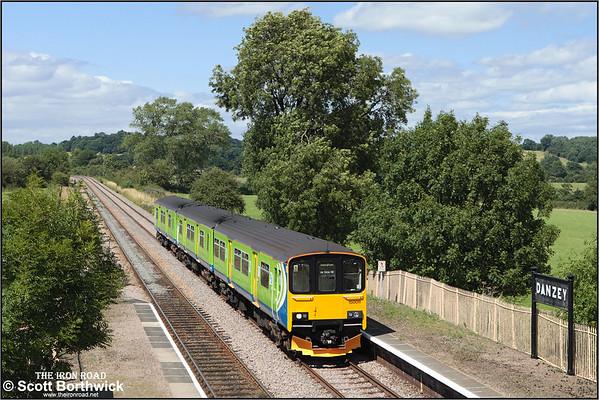 Class 150 (BREL Sprinter): Central Trains