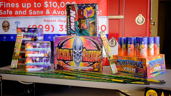 Illegal Fireworks Press Conference at Station 79, 06-20-17