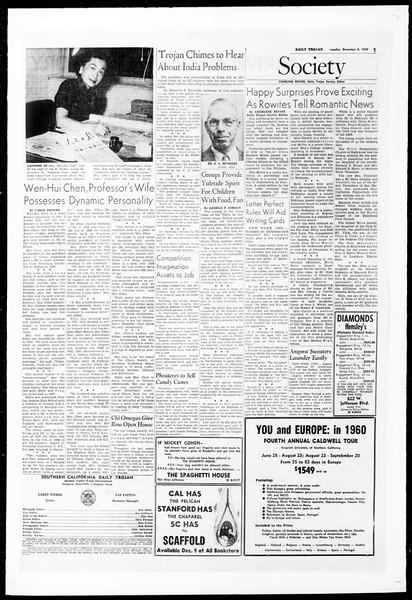 Daily Trojan, Vol. 51, No. 49, December 08, 1959