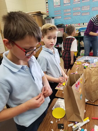 2nd Grade Valentine's Day Party