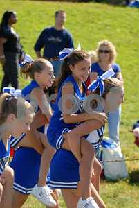 Wallkill Fighting Panthers vs Minisink White-Cheer-9-20-09