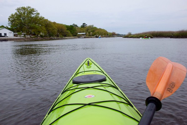 Kayaking the Stono 2018