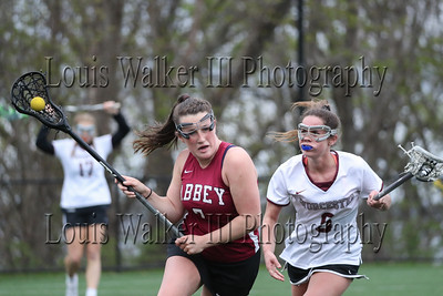 LAX Girls Worcester Academy at Abbey on 5/1/19