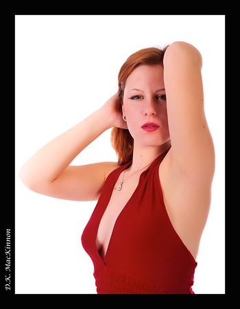 Nisha Red Fashion