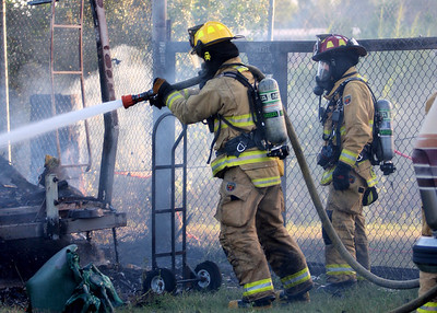 Gifford Motor Home Fire 8-21-11
