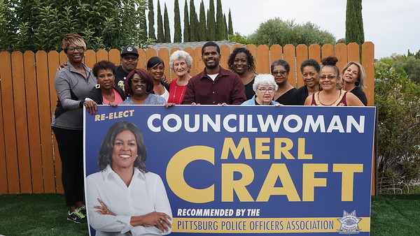 Merl Craft   Re-elect  Councilwomen