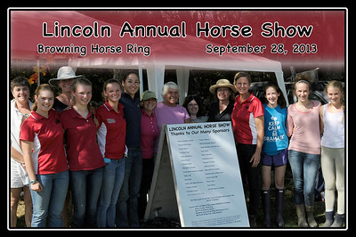 Lincoln Annual Horse Show, September 28, 2013