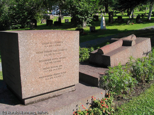 Norsk minnesmerke, Krigskirkegård, Narvik gravlund