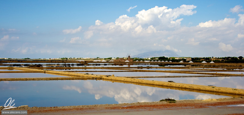 Around the salt ponds