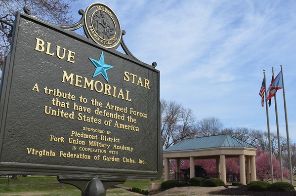 Blue Star Memorial Marker at FUMA