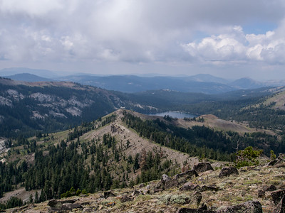 Mount Lola in the Tahoe National Forest 8.6.14