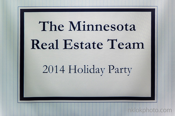 The Minnesota Real Estate Team 2014 Holiday Party