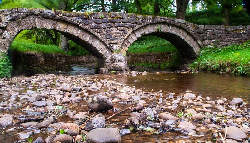 Wycoller pack-horse bridge