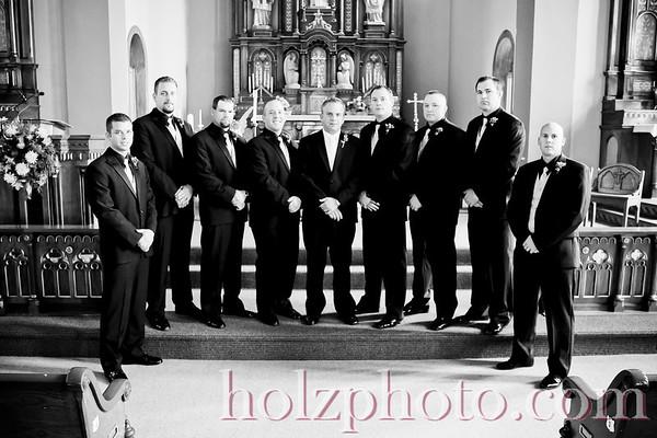 JoBeth and John B/W Wedding Photos