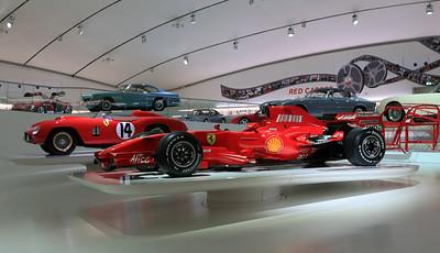 Enzo Ferrari Museum - Modena, Italy.