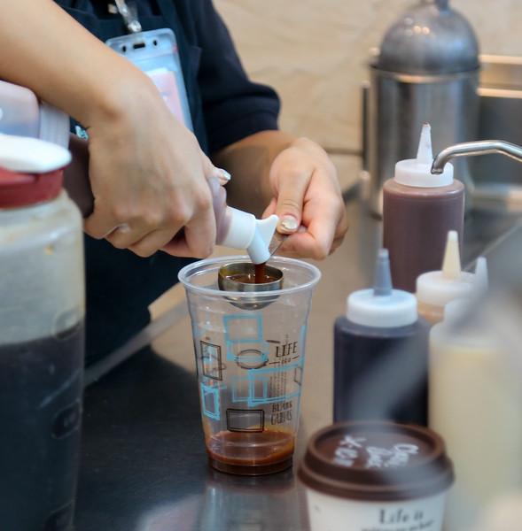 Caribou Coffee, B Gates, Mezzanine