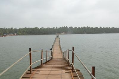 Kottapuram Foot Bridge -  Achamthuruthi Walking Bridge