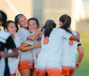 Varsity Girls Soccer Playoffs vs Steele 032621