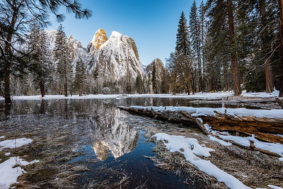Yosemite Spring and Winter