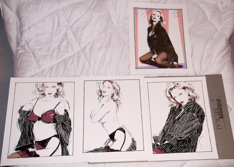 Barbara Moore Triptych