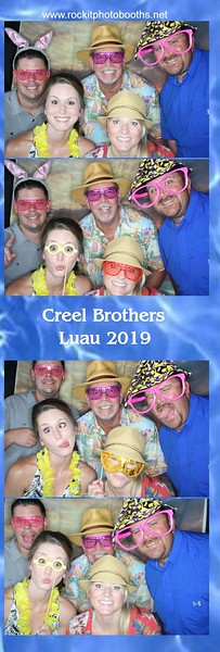 Creel Brothers Luau 2019