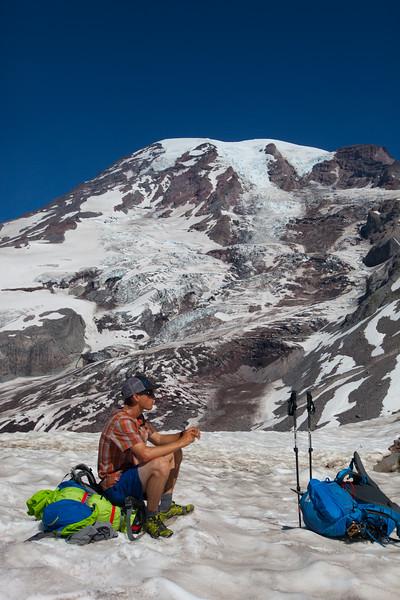 Mt. Rainier Climb w Peter Whittaker & Melissa Arnot