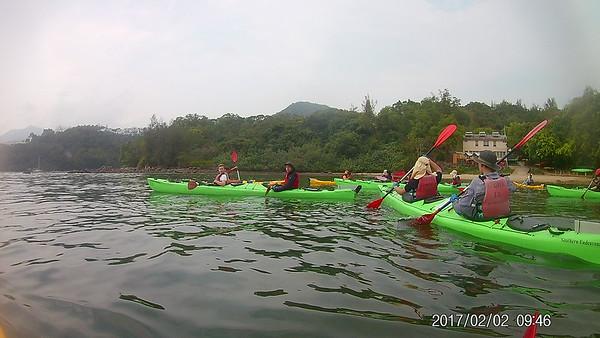 Grade 10 Sea Kayak Expedition Hong Kong