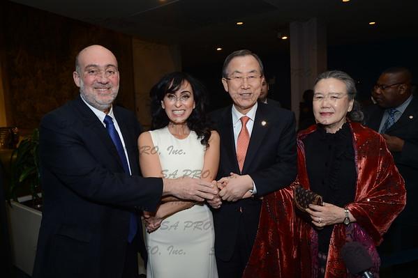 Rita at UN - event images