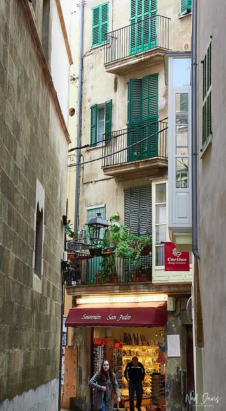 Street scene in Palma
