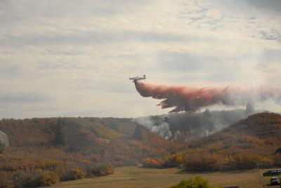 Sedalia Wildland Fire