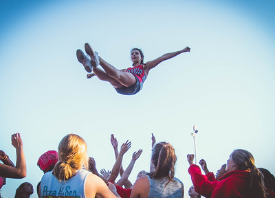 Cheer Practice Outside