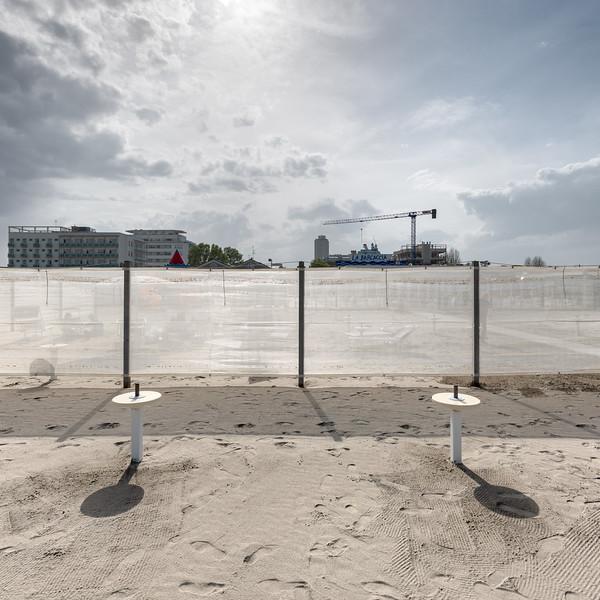 Beach - Milano Marittima, Cervia, Ravenna, Italy - April 24, 2019