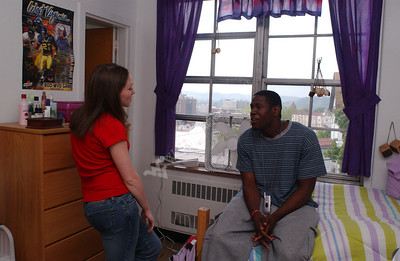 22669 Housing students living quarters rooms in Arnold Summit Brooke Stalnaker Boreman Dadisman (ia has releases)