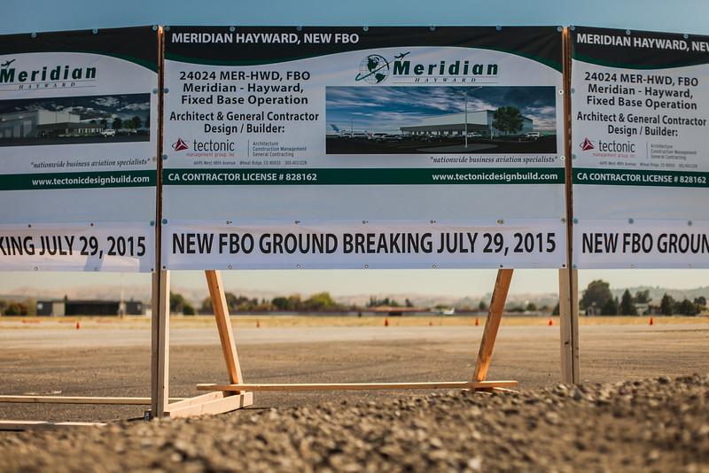 Groundbreaking Ceremony - Hayward, CA (July 29, 2015)