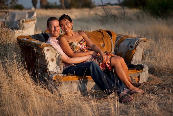 Portrait - Kyle and Carmen
