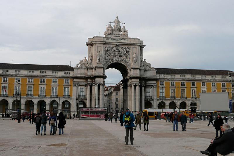 Arch of Triumph. Praça do Comércio, Baixa, Lisbon