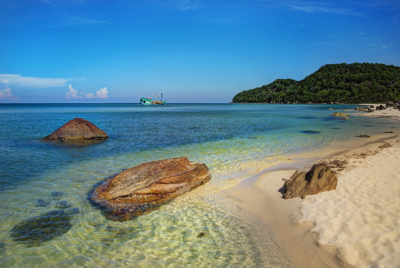 Walking Along the Beaches of Phu Quoc