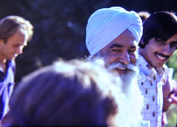 Sant Ji 1977 Tour at Sant Bani