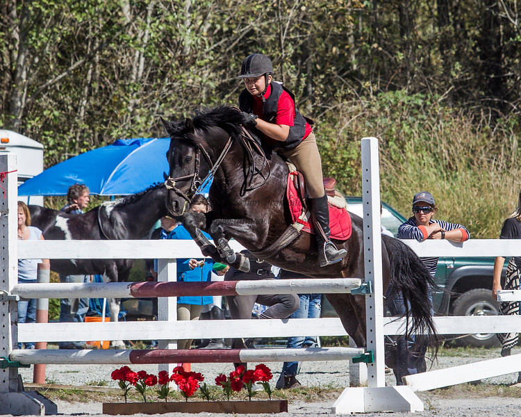 Equestrian - SVEA Hunter-Jumper - Squamish, September 2016