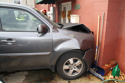 SUV Smashes into Business, The Station Fitness Center, Tamaqua (11-21-2011)