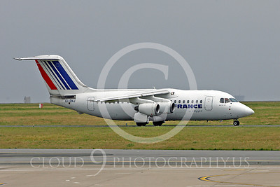 Air France Airline BAe 146 Airliner Pictures