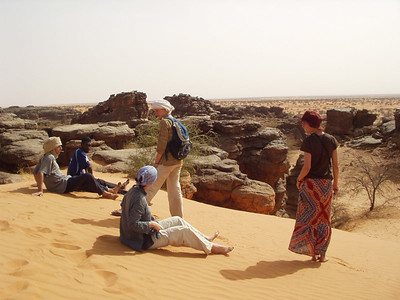 Trip to Aioun with French Volunteers