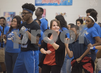 ramey-elementary-students-join-the-john-tyler-big-blue-marching-band-to-have-fun-before-staar-testing