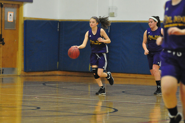 St. Joseph Crusaders girls basketball practice 121013